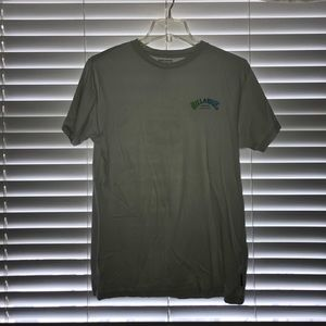 NEW✨ billabong blue and green logo tee